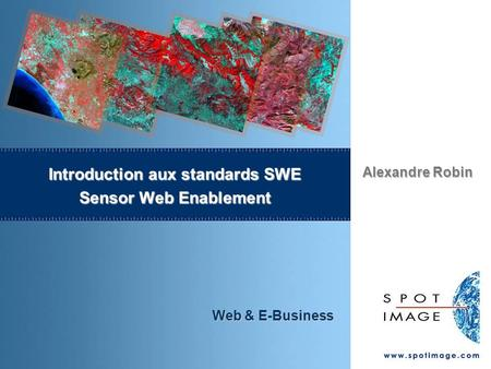 Introduction aux standards SWE Sensor Web Enablement