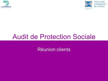 Audit de Protection Sociale