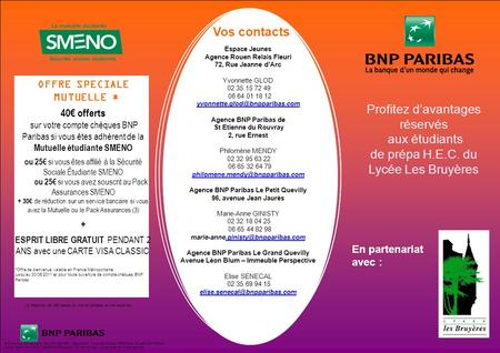 BNP Paribas, S.A au capital de 2 370 563 528 - Siège Social : 16 bd des Italiens 75009 Paris, No 662 042 449 RCS PARIS identifiant CE FR 76662042449Document.
