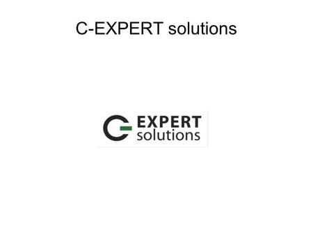 C-EXPERT solutions. Produits / Products Le commerce en ligne avec osCommerce et ZenCart... On-line commerce with osCommerce and ZenCart.