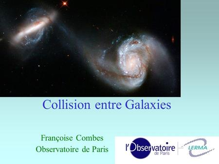 Collision entre Galaxies
