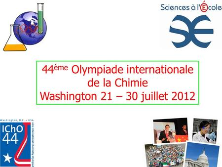 44ème Olympiade internationale de la Chimie