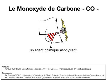 Le Monoxyde de Carbone - CO -