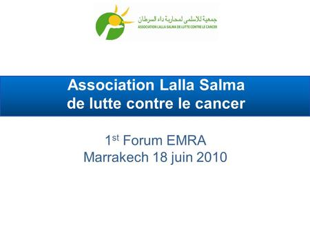 Association Lalla Salma de lutte contre le cancer