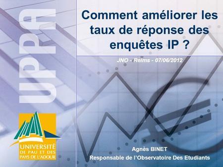 Lobservatoire est soutenu par r sultats de lenqu te 2012 eric monnoyer vp consulting pierre - Salon de l etudiant reims ...