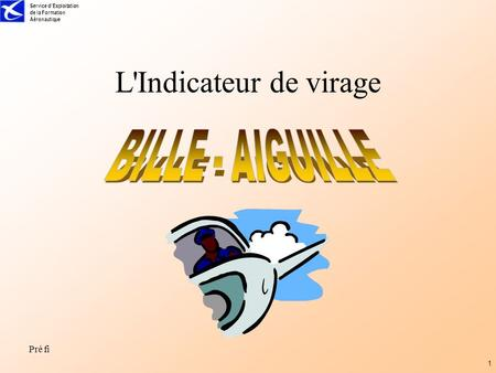 L'Indicateur de virage BILLE - AIGUILLE.