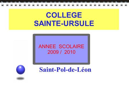 COLLEGE SAINTE-URSULE