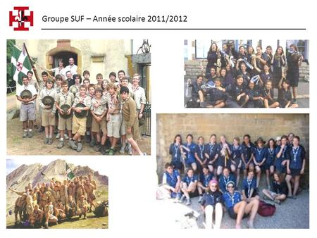 Groupe SUF – Année scolaire 2011/2012