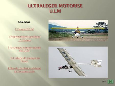 ULTRALEGER MOTORISE U.L.M