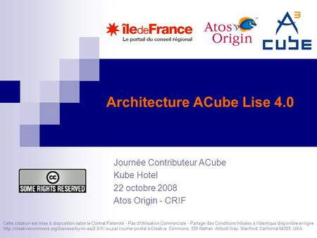 Copyright 2008 parisjug licence cc creative commons 2 for Architecture commerciale definition