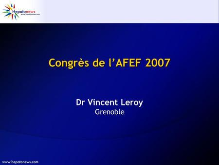 Dr Vincent Leroy Grenoble