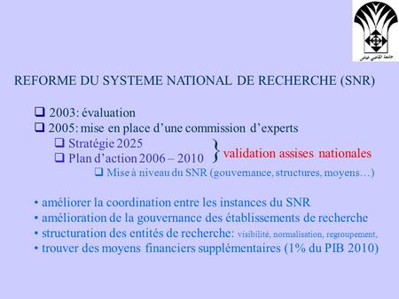 }validation assises nationales