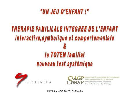 THERAPIE FAMILILALE INTEGREE DE L'ENFANT