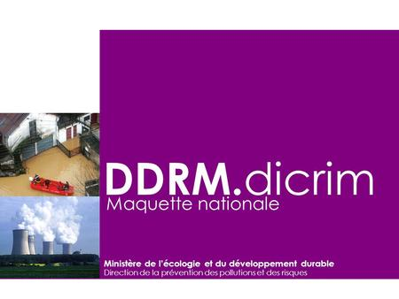 DDRM.dicrim Maquette nationale