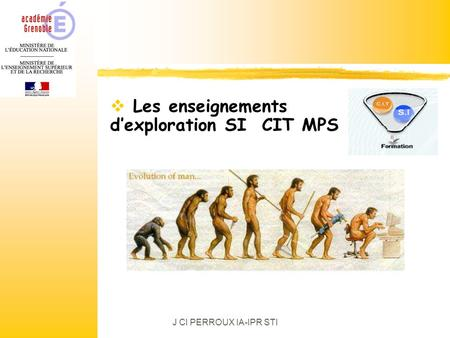 Les enseignements d'exploration SI CIT MPS