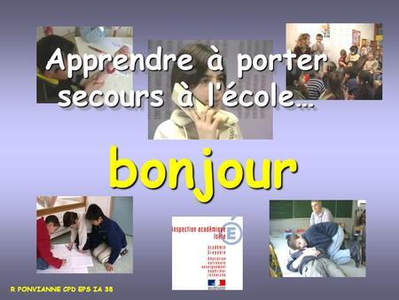 L apprentissage des premiers secours ppt video online t l charger - Apprendre a porter secours cycle 3 ...