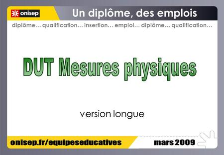 Diplôme… qualification… insertion… emploi… diplôme… qualification… version longue.