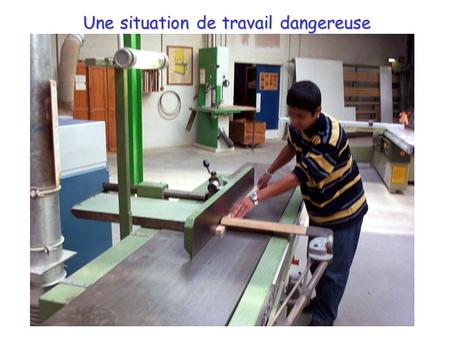 Une situation de travail dangereuse Photo JPEG 800x600 ou description.