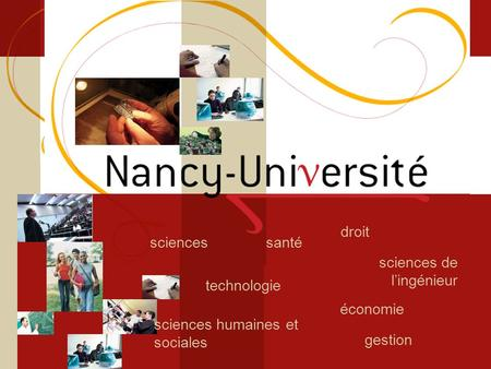 Licence sciences et technologie Sciences du Vivant technologie santésciences sciences de lingénieur droit gestion économie sciences humaines et sociales.