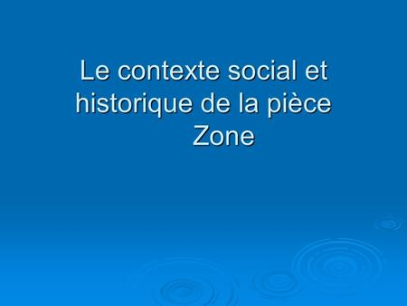 Le refus global et ses artistes ppt t l charger - La chambre des officiers contexte historique ...