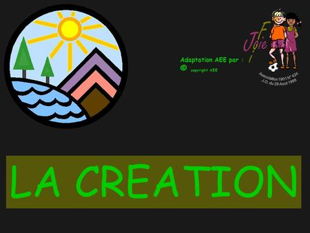 LA CREATION © copyright AEE Association 1901 N° 424