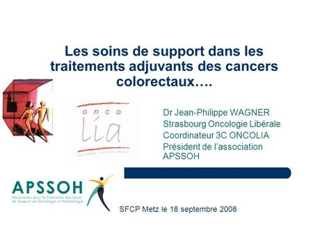 Dr Jean-Philippe WAGNER Strasbourg Oncologie Libérale