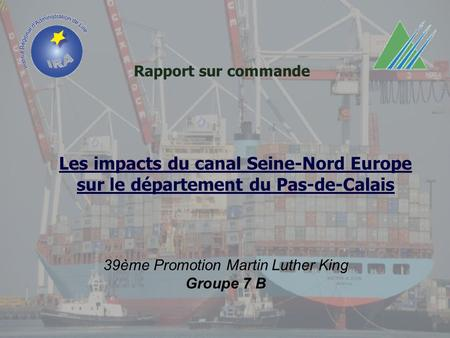 Les impacts du canal Seine-Nord Europe