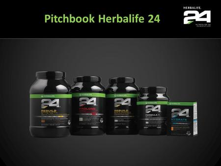 Pitchbook Herbalife 24 Welcome to Herbalife24.