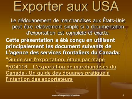 Logistique et transport international ppt t l charger for Chambre de commerce francaise aux usa