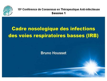 Définition Infection respiratoire basse
