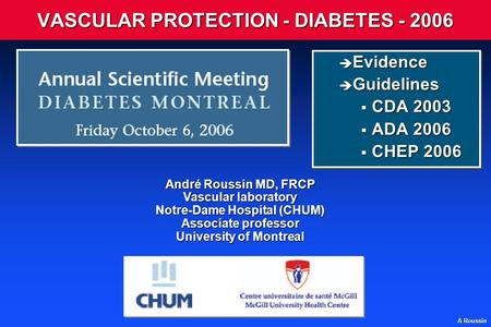 VASCULAR PROTECTION - DIABETES