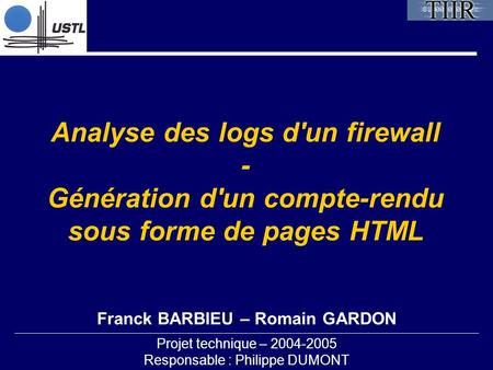 Franck BARBIEU – Romain GARDON