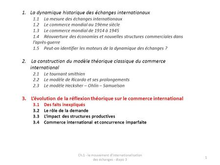 Ch.1 - le mouvement d'internationalisation des échanges - diapo 3