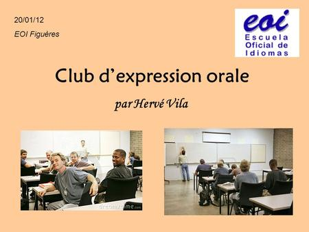Club d'expression orale