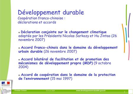 DIRECTION DE LA PREVENTION DES RISQUES ET LUTTE CONTRE LES POLLUTIONS DIRECTION DE LA PREVENTION DES POLLUTIONS ET DES RISQUES DIRECTION DE LA PREVENTION.