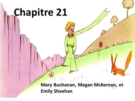 Mary Buchanan, Megan McKernan, et Emily Sheehan