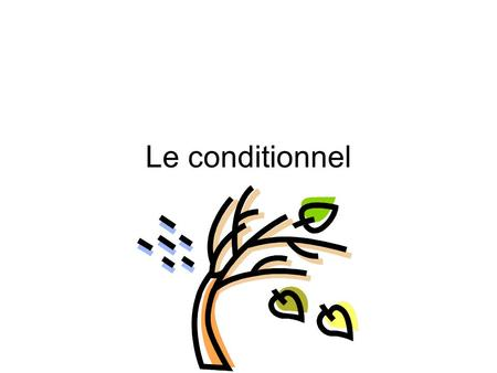 Le conditionnel. La Formation Very similiar to the future tense in formation Infinitive of the verb limparfait endings aisions aisiez aitaient.