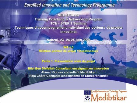 La cartographie business developer en innovation ppt for Dujardin hec