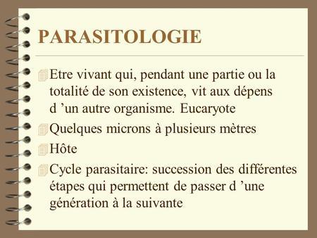 La mamie des parasites