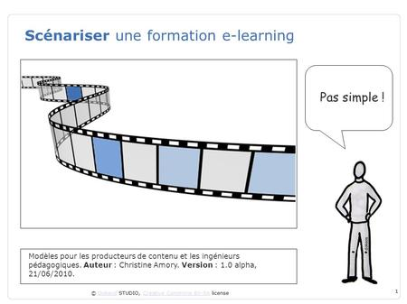 Scénariser une formation e-learning