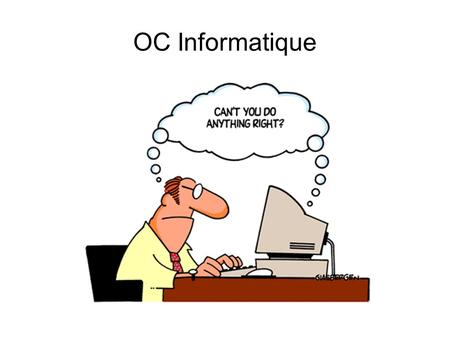 OC Informatique.