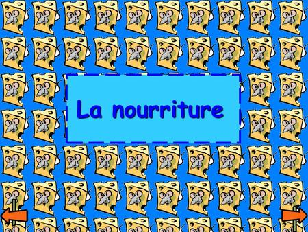 La nourriture. Learning objectives  Learn to recognise and name different food items  Understand how to describe what you eat for each different meal.