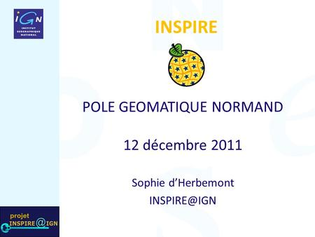 POLE GEOMATIQUE NORMAND