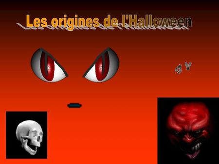 Les origines de l'Halloween