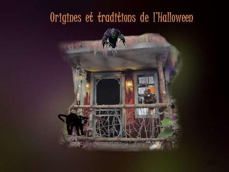 Origines  et  traditions  de  l'Halloween