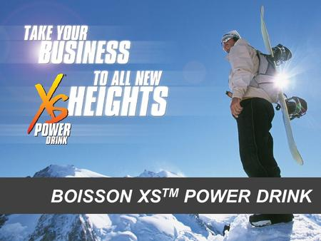 BOISSON XSTM POWER DRINK