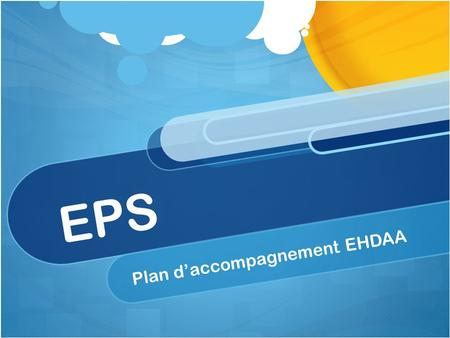 Plan d'accompagnement EHDAA