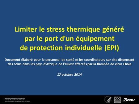 Les risques li s l ambiance thermique ppt t l charger - Definition de franco de port ...