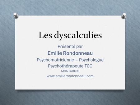 Psychomotricienne – Psychologue