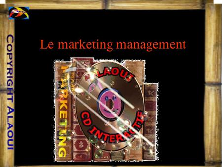 Le marketing management Chapitre 1:les fondements du marketing I. Définitions II. Concepts de base III. Les dimensions du marketing IV. Les optiques.